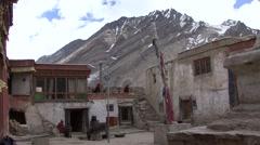 Rangdum Buddhist Monastery. Stock Footage
