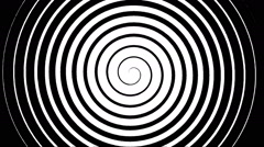 Swirling hypnotic spiral - 02-upa Stock Footage
