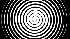 Swirling hypnotic spiral - 02-vpa - stock footage