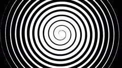 Swirling hypnotic spiral - 02-wna - stock footage