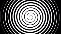 Swirling hypnotic spiral - 02-xna - stock footage