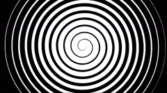 Swirling hypnotic spiral - 02-ypa - stock footage
