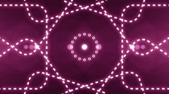 Abstract light music clip backgorund 4K Purple Stock Footage