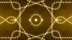 abstract light music clip backgorund 4K Yellow - stock footage