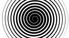 Swirling hypnotic spiral - 12-una Stock Footage