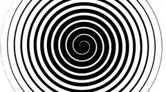Swirling hypnotic spiral - 12-wna - stock footage