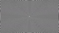 Swirling hypnotic spiral - 13-una Stock Footage