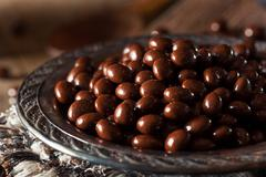 Chocolate Covered Espresso Coffee Beans - stock photo