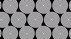 Swirling hypnotic spirals - 61-pa - stock footage