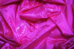 Pink fabric background - stock photo