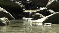 Waterfall krimml detail slowmo. Stock Footage