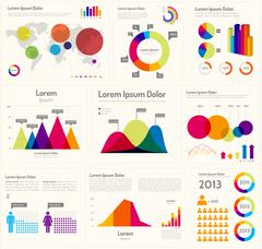 Stock Illustration of Infographic Layout