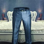 Man's trousers Stock Photos