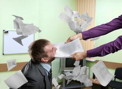 Business argument - stock photo