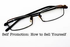 How to promote yourself Stock Photos