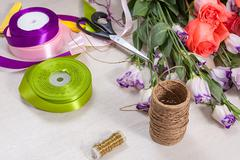 Flovers and accessories - stock photo