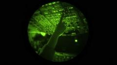 MIDDLE ATLANTIC, NOVEMBER 2015, C 17 Globemaster Aircraft Fligh In Air Night Stock Footage