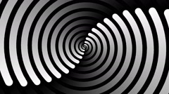 Swirling hypnotic spiral - 72-na Stock Footage