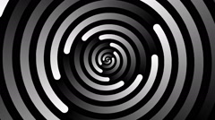 Swirling hypnotic spiral - 73-na Stock Footage