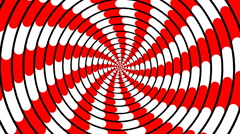 Swirling hypnotic spiral - 81-xna Stock Footage