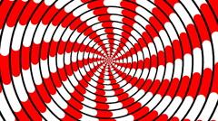 Swirling hypnotic spiral - 81-yna Stock Footage