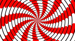 Swirling hypnotic spiral - 81-ypa - stock footage
