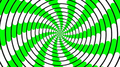 Swirling hypnotic spiral - 83-yna Stock Footage