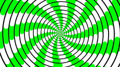 Swirling hypnotic spiral - 83-zpa - stock footage