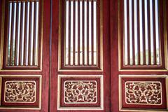 Doors inside Citadel - stock photo