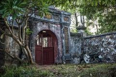 Forbidden City Gate - stock photo