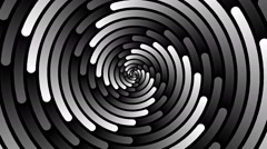 Swirling hypnotic spiral - 92-xna Stock Footage