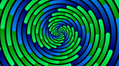 Swirling hypnotic spiral - 94-xna - stock footage