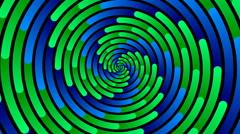 Swirling hypnotic spiral - 94-xna Stock Footage