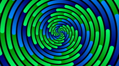 Swirling hypnotic spiral - 94-xpa Stock Footage