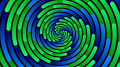 Swirling hypnotic spiral - 94-ypa - stock footage