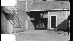 Cotton GIN Harvest Building Industry 1940s Vintage Film Home Movie 8824 Stock Footage
