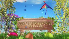 Easter Day Memories - stock after effects
