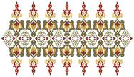 Stock Illustration of Antique Ottoman borders and frames series forty five