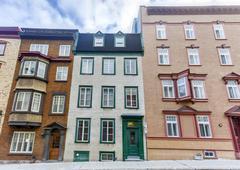 Quebec City Architecture - stock photo