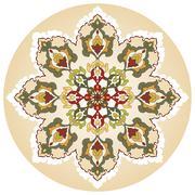 Stock Illustration of Antique ottoman turkish pattern vector design twenty nine