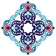 Stock Illustration of Antique ottoman turkish pattern vector design two