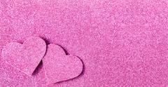Stock Photo of Pink glitter shiny abstract valentine's day background
