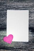 Stock Photo of Valentines Day background with hearts