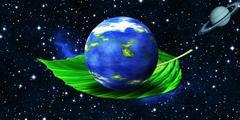 Green Planet - Ecology - stock illustration