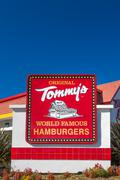 Original Tommy's Exterior and Sign Stock Photos