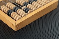 Old wooden abacus Stock Photos