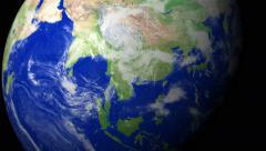 4K Earth Zoom: Hanoi - Vietnam Stock Footage