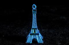Tour Eiffel Statuette - stock photo