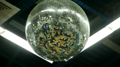 Remember disco ball - stock footage
