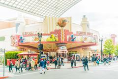 Stock Photo of Osaka, Japan - December 1:  The theme park attractions based on the film indu